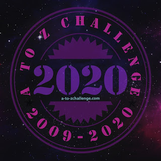 2020 A to Z Challenge logo