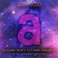 2020 A to Z Challenge Logo - A