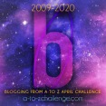 2020 A to Z Challenge Logo - B